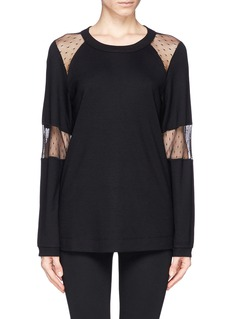 SEE BY CHLOÉLace panel top