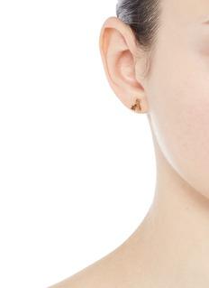 Xiao Wang'Stardust' diamond 14k yellow gold earrings