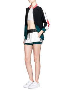 No Ka'Oi'Wehe' colourblock performance jacket
