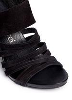 'Yuna' strappy suede sandals