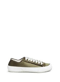 Pedro García'Parson' satin sneakers