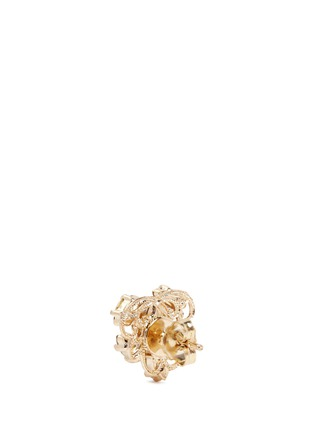 Detail View - Click To Enlarge - Anton Heunis - Swarovski crystal pearl stud earrings