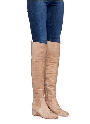 Figure View - Click To Enlarge - Sam Edelman - 'Elina' suede thigh high boots