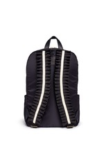 'Tuck' ribbon strap nylon backpack