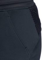 'Nikecourt' hypermesh trim drawstring pants