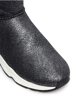 Detail View - Click To Enlarge - Ash - 'Miko' shearling ankle boots