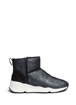 Main View - Click To Enlarge - Ash - 'Miko' shearling ankle boots
