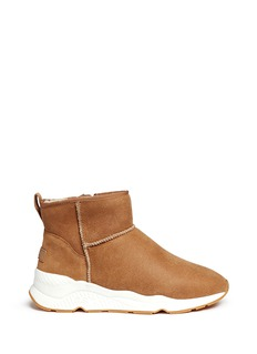 Ash 'Miko' shearling ankle boots