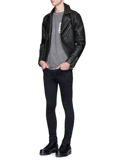 Topman 'Super Spray On' skinny fit pants