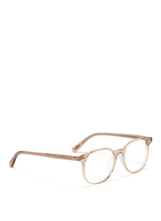 Figure View - Click To Enlarge - Oliver Peoples - 'Scheyer' acetate optical glasses