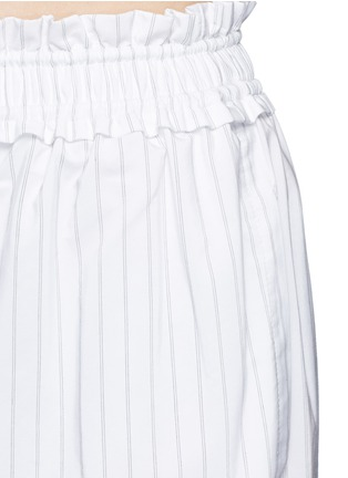 Detail View - Click To Enlarge - 3.1 Phillip Lim - Pinstripe palazzo wide leg pants