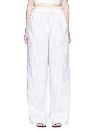 Main View - Click To Enlarge - 3.1 Phillip Lim - Pinstripe palazzo wide leg pants