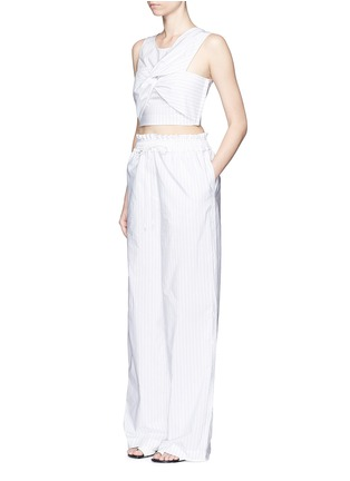 Figure View - Click To Enlarge - 3.1 Phillip Lim - Pinstripe palazzo wide leg pants
