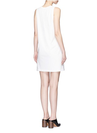 3.1 Phillip Lim - Silk ruffle trim cotton sleeveless dress