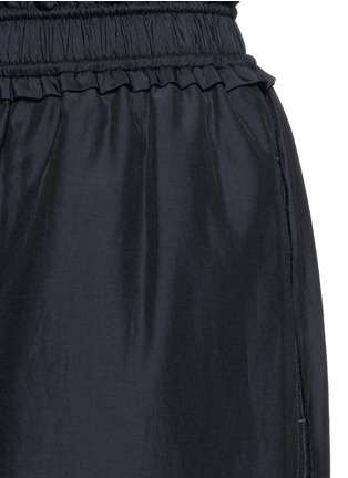 Detail View - Click To Enlarge - 3.1 Phillip Lim - Paperbag waist silk-cotton parachute culottes