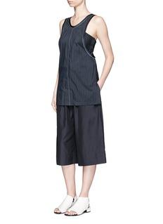 3.1 Phillip LimPaperbag waist silk-cotton parachute culottes