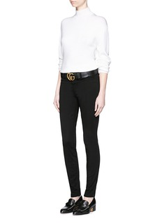 J Brand 'Luxe Sateen' super skinny jeans
