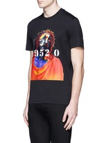 Jesus print cotton T-shirt