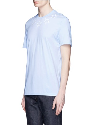 Front View - Click To Enlarge - Givenchy - Star print cotton slub T-shirt