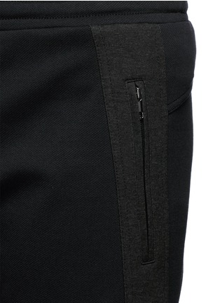 Detail View - Click To Enlarge - Dolce & Gabbana - Side stripe zip cuff jogging pants