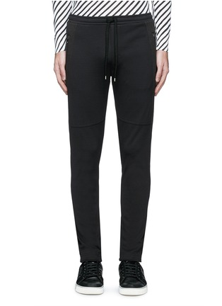 Main View - Click To Enlarge - Dolce & Gabbana - Side stripe zip cuff jogging pants