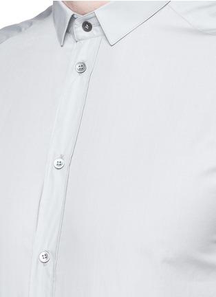 Detail View - Click To Enlarge - Dolce & Gabbana - 'Gold' poplin shirt