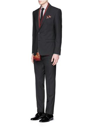 Figure View - Click To Enlarge - Dolce & Gabbana - 'Gold' poplin shirt