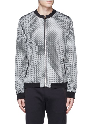 Main View - Click To Enlarge - Dolce & Gabbana - Reversible monkey bandana print blouson jacket