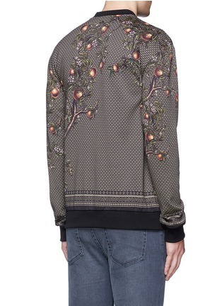 Back View - Click To Enlarge - Dolce & Gabbana - Peacock print sweatshirt