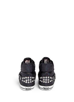 Back View - Click To Enlarge - Ash - 'Virtigo' glitter mesh sneakers