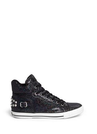 Main View - Click To Enlarge - Ash - 'Virtigo' glitter mesh sneakers