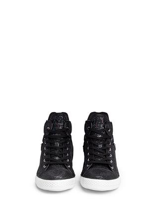 Figure View - Click To Enlarge - Ash - 'Virtigo' glitter mesh sneakers