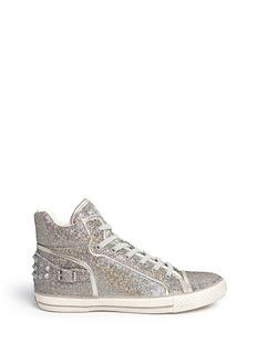 ASH'Virtigo' glitter mesh sneakers
