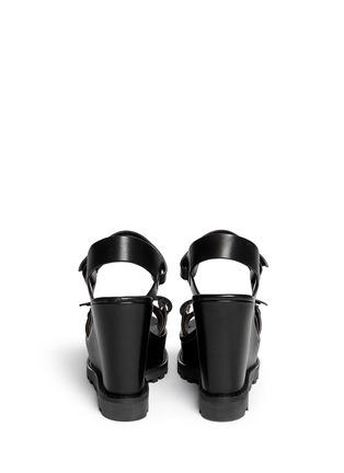 背面 - 点击放大 - MARC BY MARC JACOBS - 粘贴搭带坡跟凉鞋