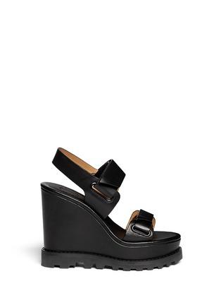 首图 - 点击放大 - MARC BY MARC JACOBS - 粘贴搭带坡跟凉鞋