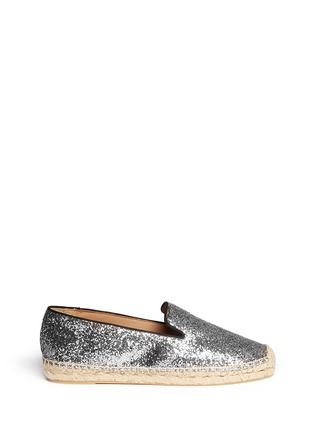 Main View - Click To Enlarge - Marc by Marc Jacobs - Glitter espadrille slip-ons