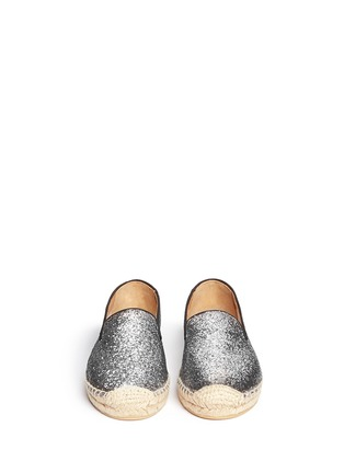 Figure View - Click To Enlarge - Marc by Marc Jacobs - Glitter espadrille slip-ons