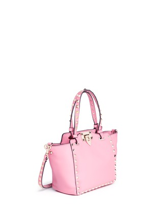 Figure View - Click To Enlarge - Valentino - 'Rockstud' mini leather tote
