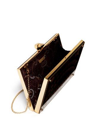 Detail View - Click To Enlarge - KOTUR - 'Merrick Ouija Board' Perspex clutch