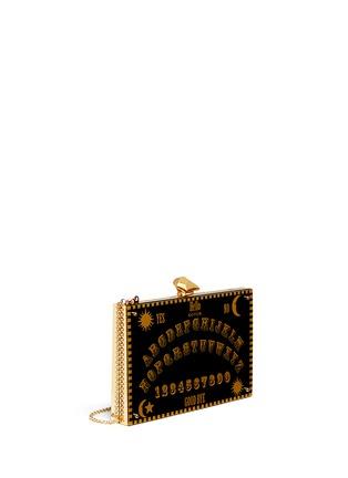 Front View - Click To Enlarge - KOTUR - 'Merrick Ouija Board' Perspex clutch