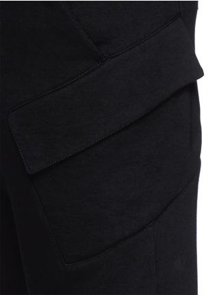 细节 - 点击放大 - HELMUT LANG - 侧口袋纯棉休闲长裤