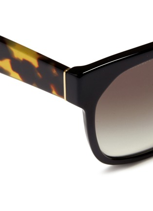 Detail View - Click To Enlarge - Prada - Tortoiseshell temple acetate sunglasses
