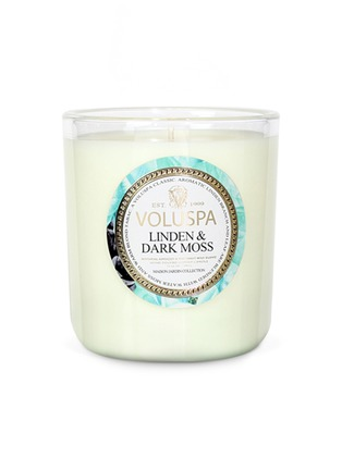 Main View - Click To Enlarge - VOLUSPA - Maison Jardin Linden & Dark Moss scented candle 340g