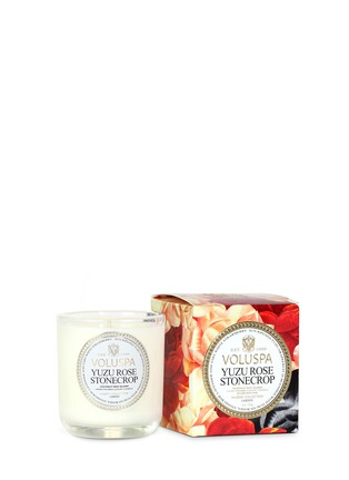 - VOLUSPA - Maison Jardin Yuzu Rose scented votive candle 85g