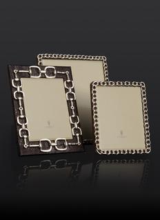 L'OBJET 锁链边饰相框(6寸)