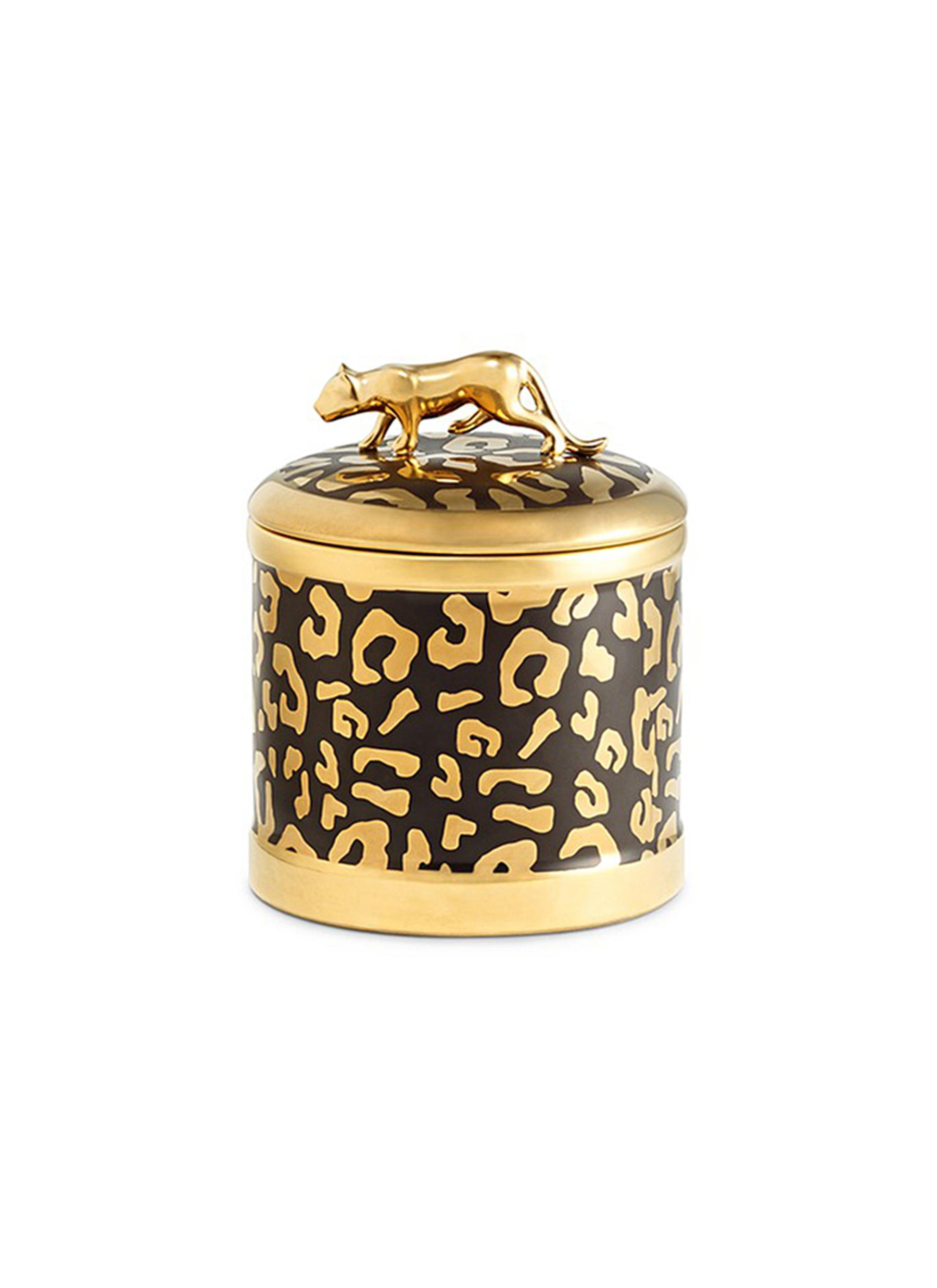 lobjet female leopard scented candle