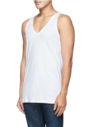 Front View - Click To Enlarge - Zimmerli - '286 Sea Island' tank top