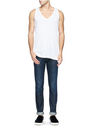 Figure View - Click To Enlarge - Zimmerli - '286 Sea Island' tank top