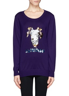 MARKUS LUPFER 'Capricorn' sequin sweater