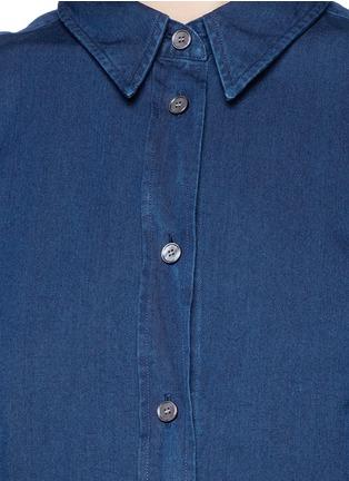 Detail View - Click To Enlarge - Acne Studios - 'Lyric' denim shirt dress